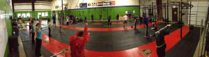 Saturday morning class getting ready to work!