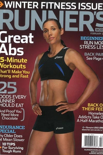Especially when they put Lolo Jones on the cover. #girlcrush.